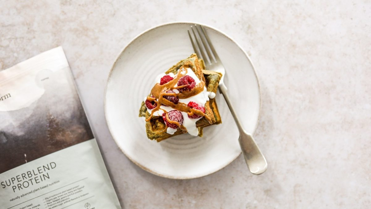 protein waffle